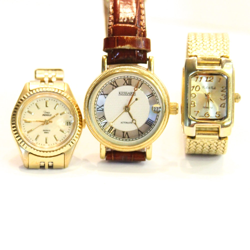 Women's Wristwatches Including Timex
