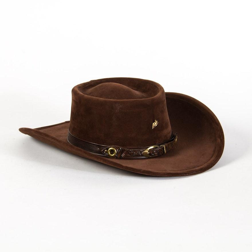 Bailey U-Rollit Vintage Cowboy Hat   EBTH 6634f1830ab