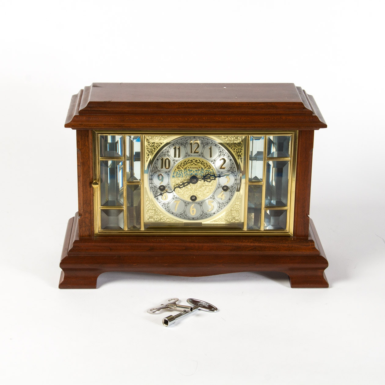 Contemporary Ansonia Chime Clock