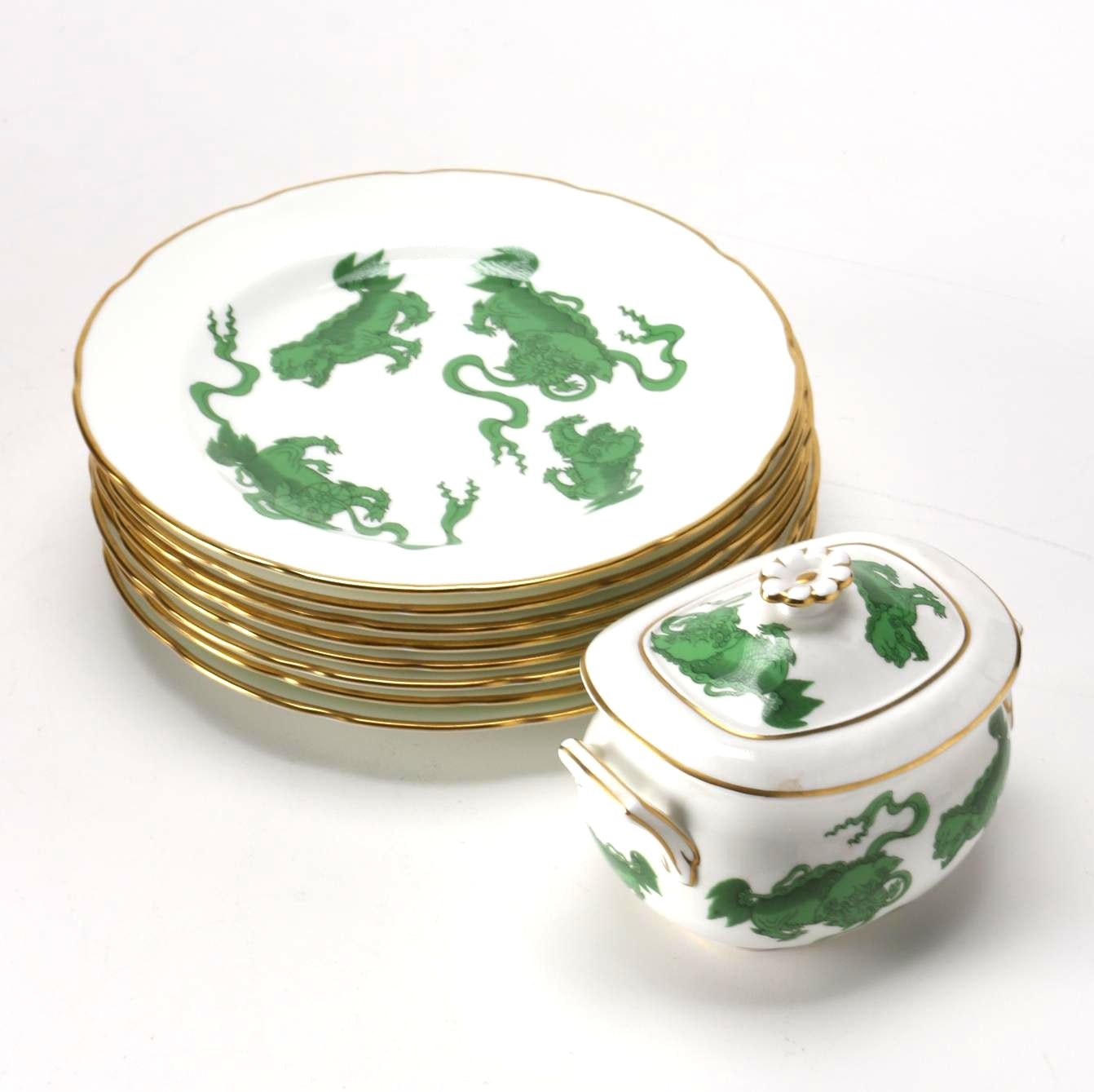 "Wedgwood ""Chinese Tigers"" China"