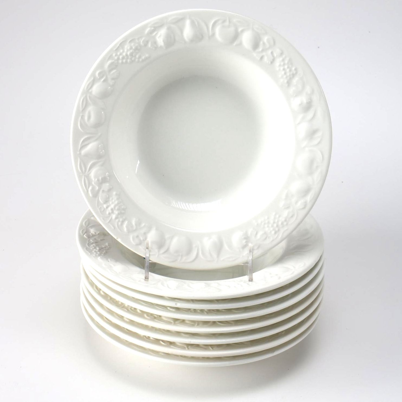 Windsor & Browne White Ceramic Bowls
