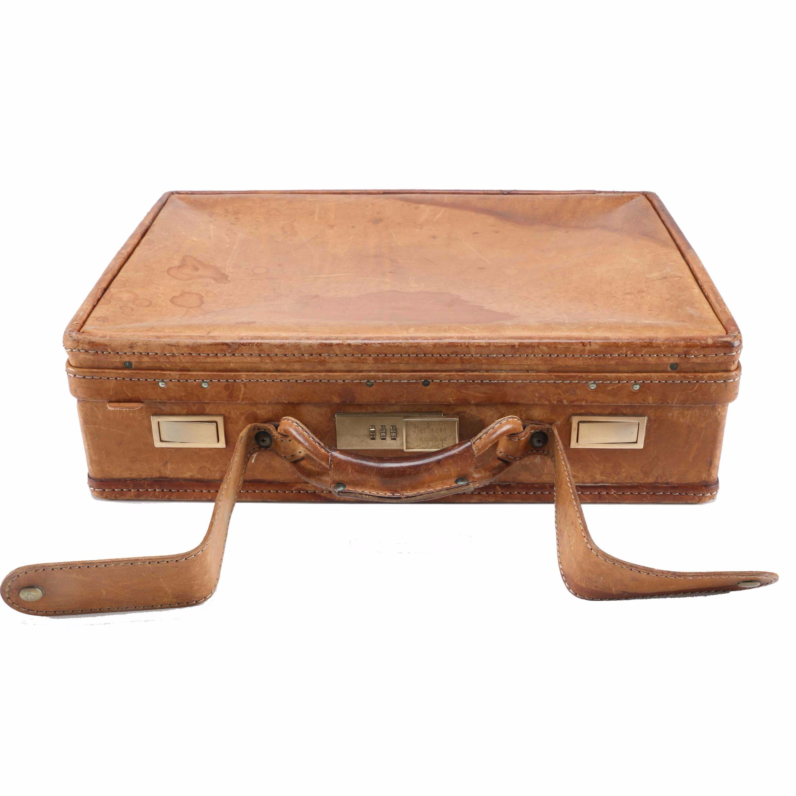 Hartmann Leather Briefcase