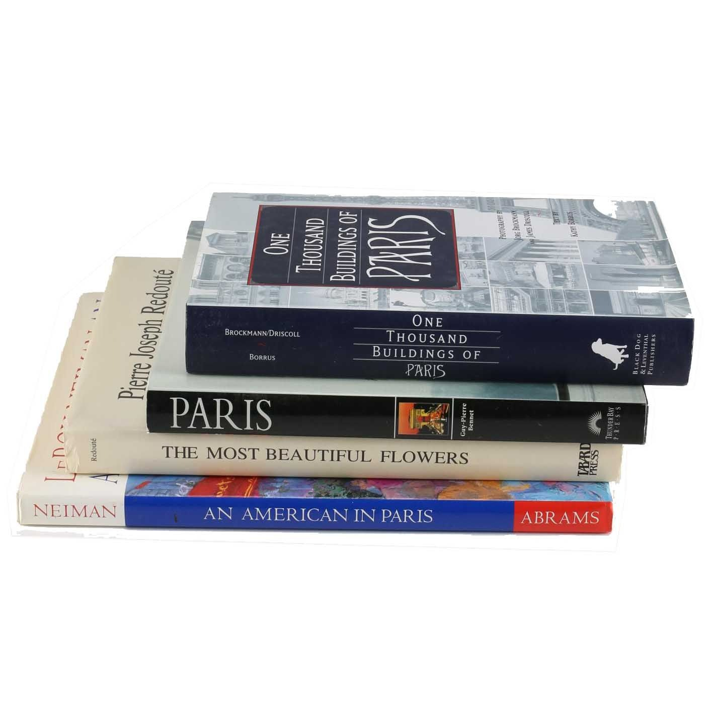 Grouping of Paris Photography Books