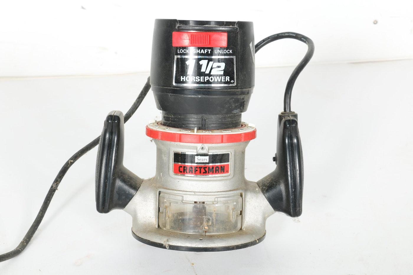 Assortment Of Power Tools Featuring Craftsman Ebth