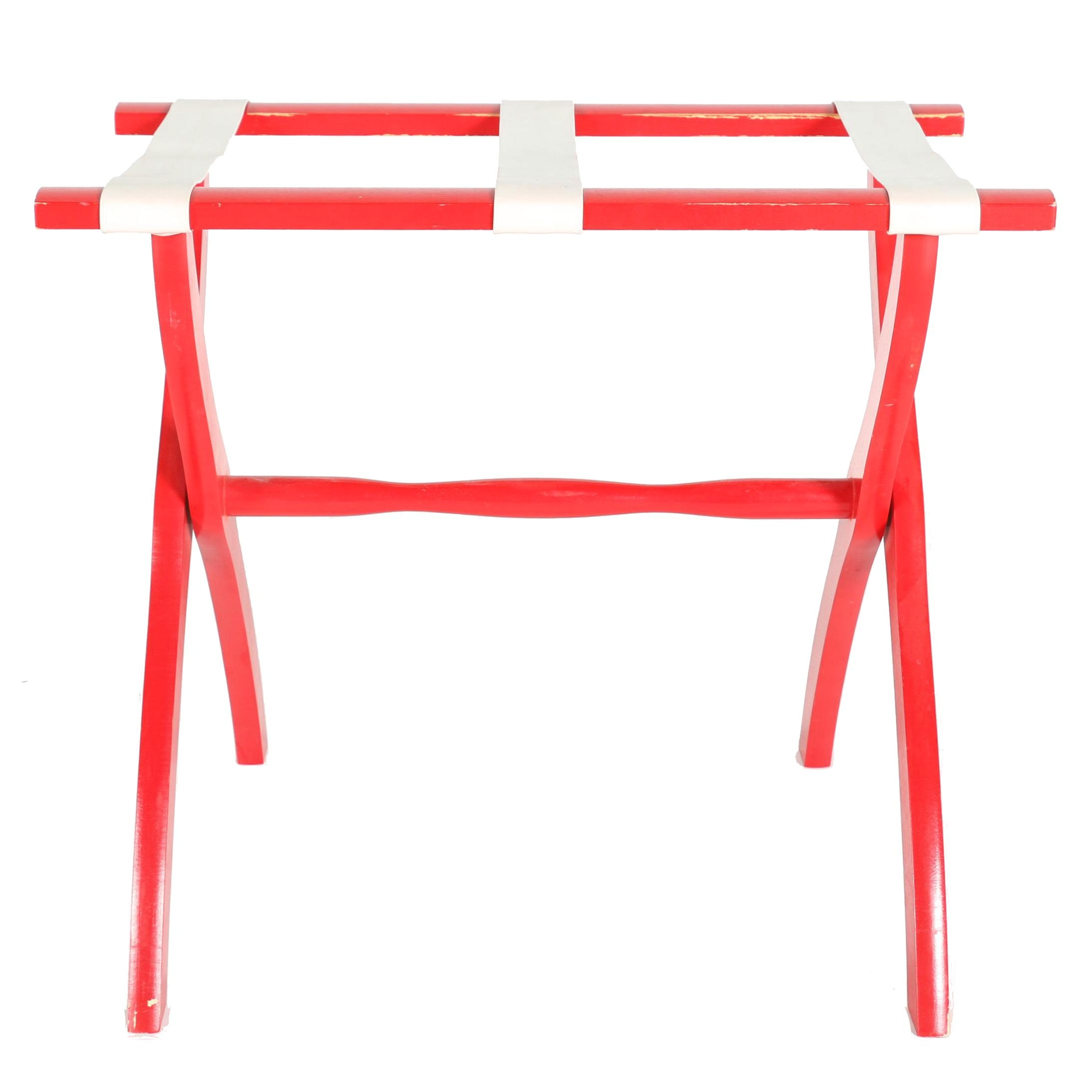 Scheibe Red Luggage Rack