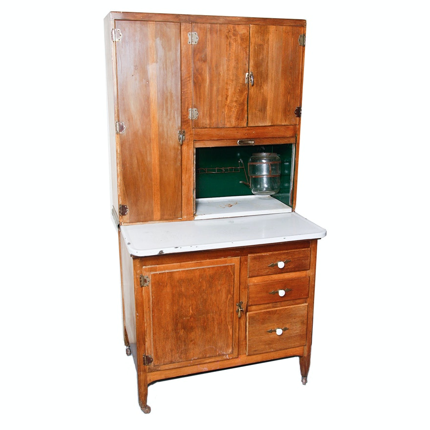 Kitchen Maid Cabinet: Early 20th Century Hoosier Style Cabinet By Kitchen Maid