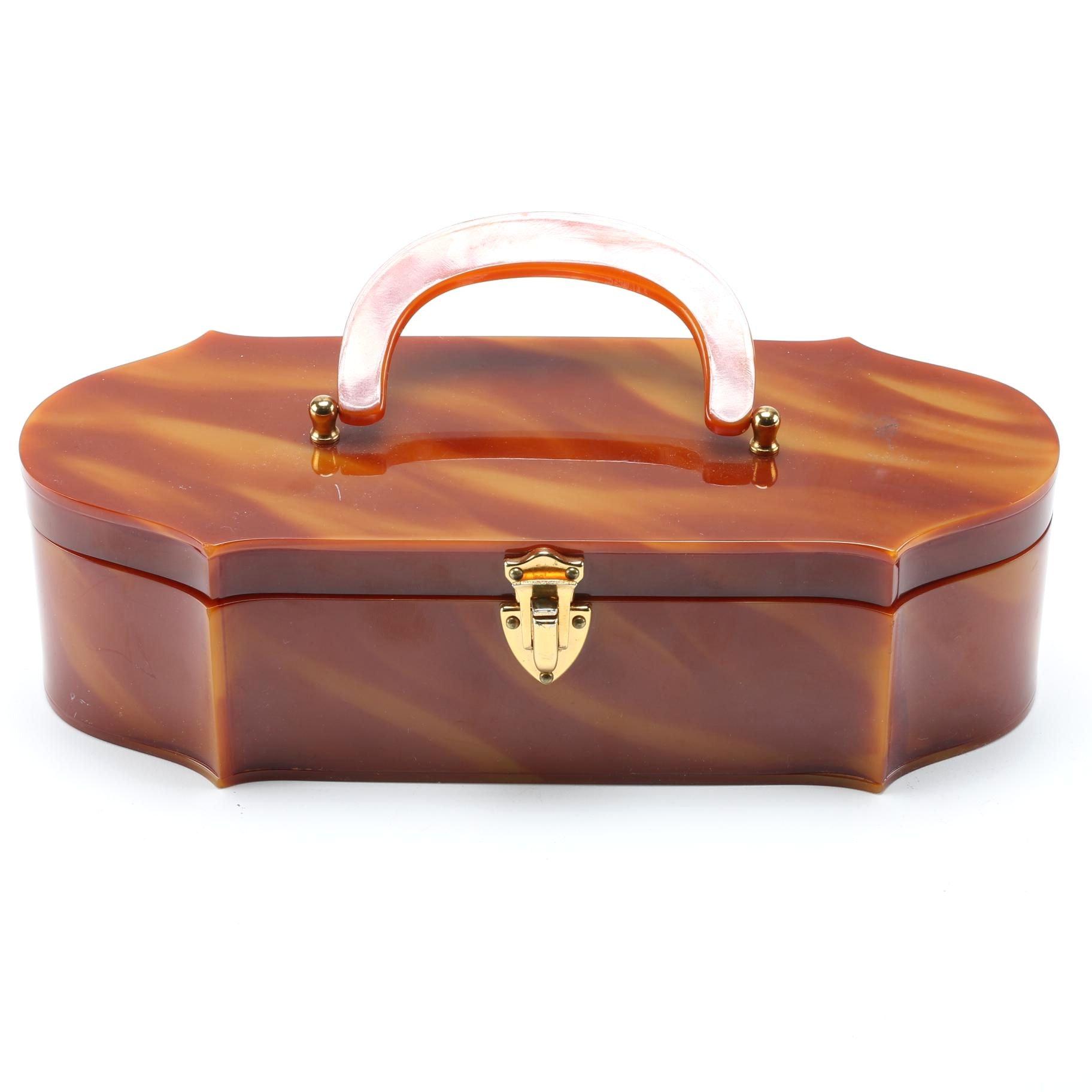 Wilardy Bakelite Box Purse