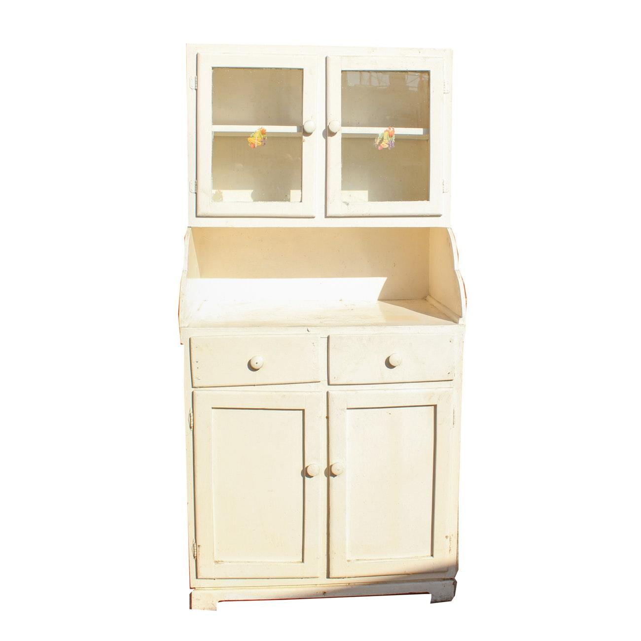 Vintage Stepback Kitchen Cupboard