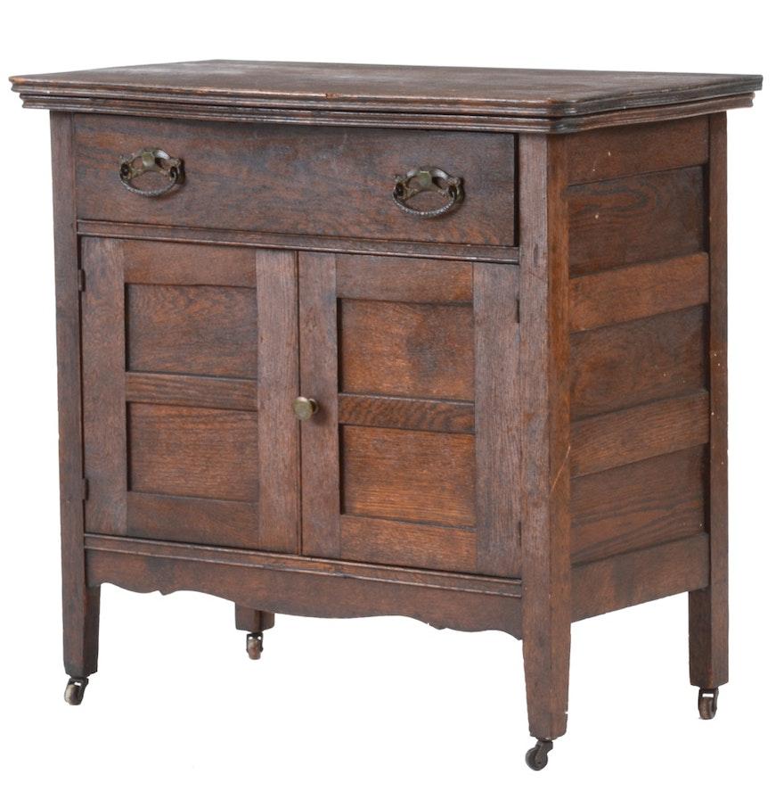 Antique Oak Cabinet Ebth - Antique Oak Cabinet - Best 2000+ Antique Decor Ideas