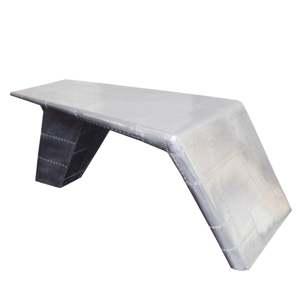 """Pilot"" Writing Desk by MOTI Furniture"