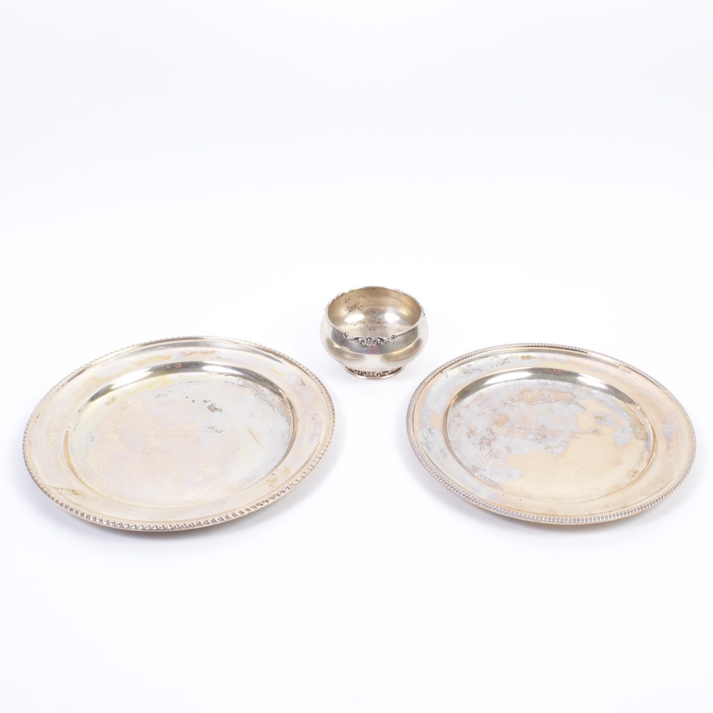 800 Silver Serving Ware