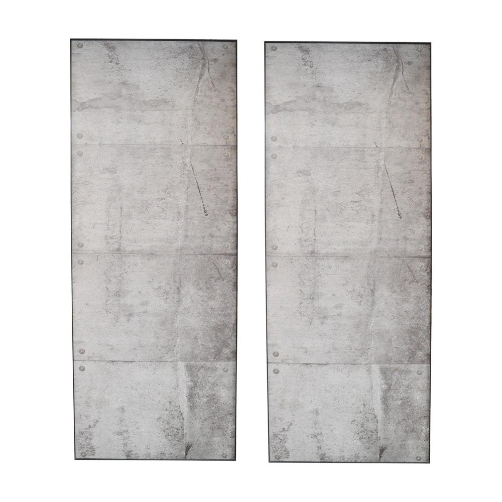 Offset Lithographs of Concrete Art Panels