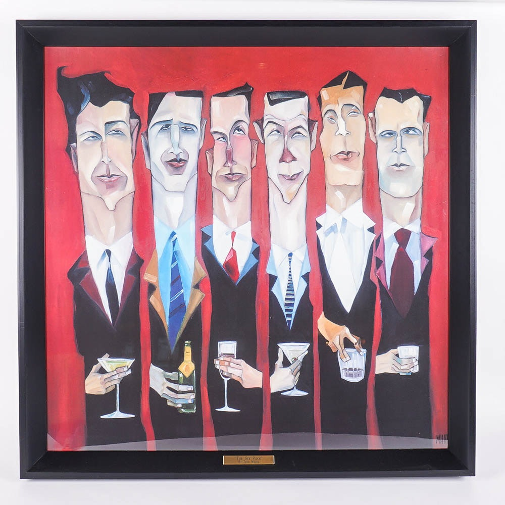 "Todd White Giclee ""The Six Pack"""