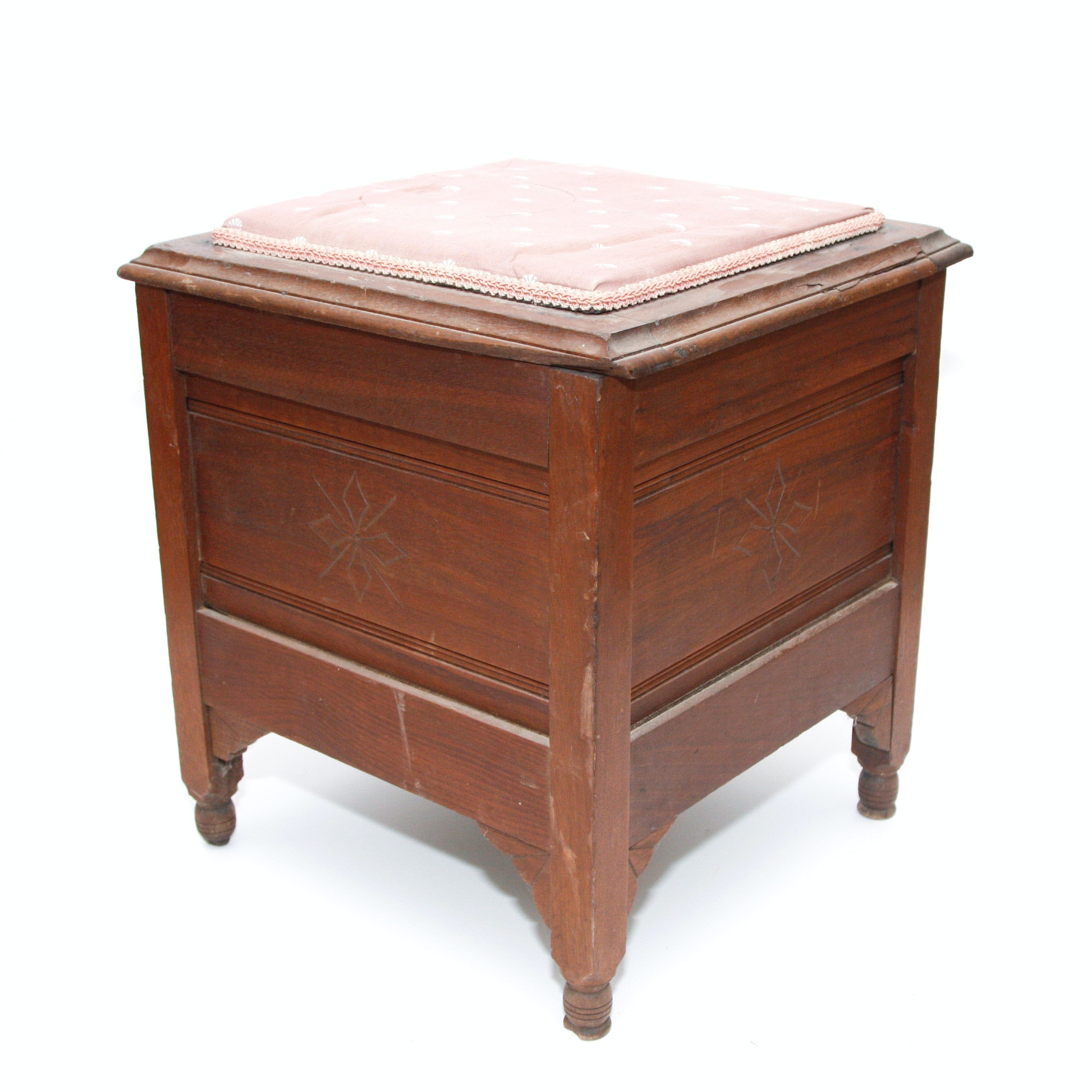19th C. Chamber Pot Commode