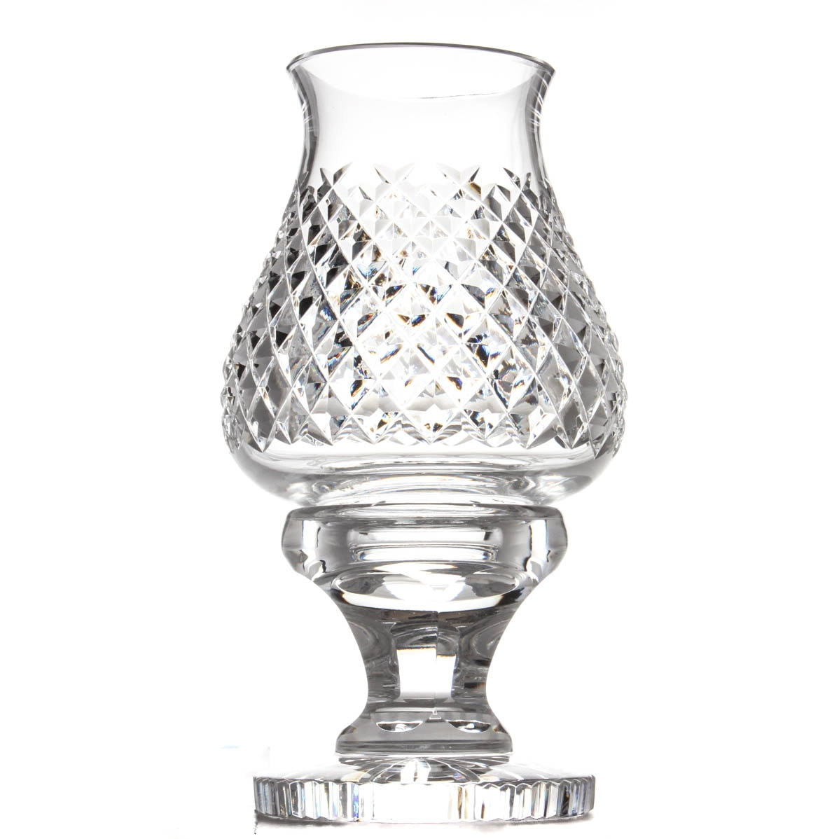 "Waterford Crystal ""Alana"" Hurricane and Globe"