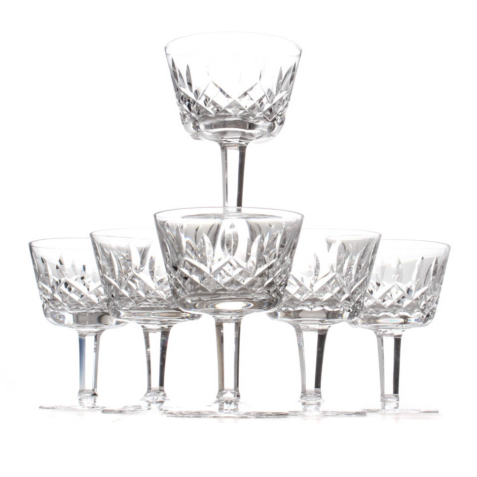 "Waterford Crystal ""Lismore"" Cocktail Glasses"