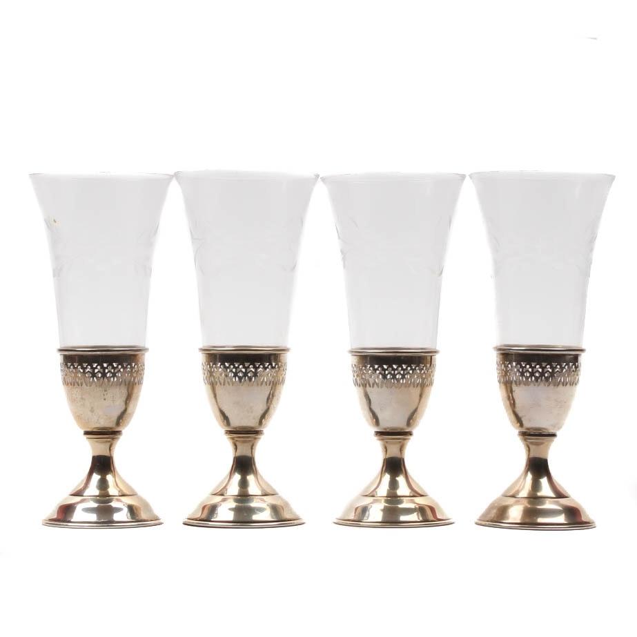 Manchester Silver Co. Sterling Silver Stemware Set