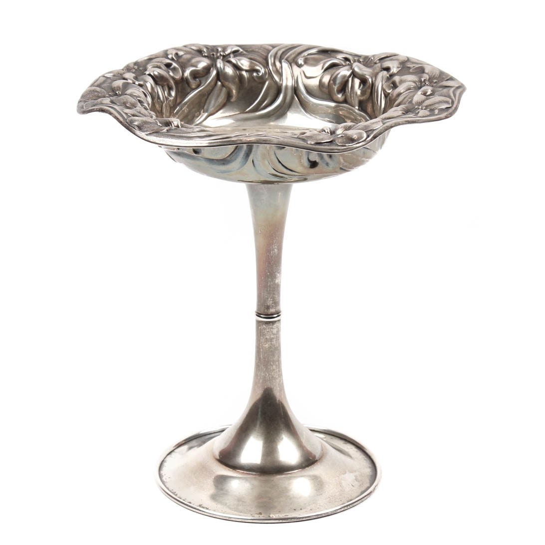 Mauser Mfg. Co. Sterling Silver Footed Compote