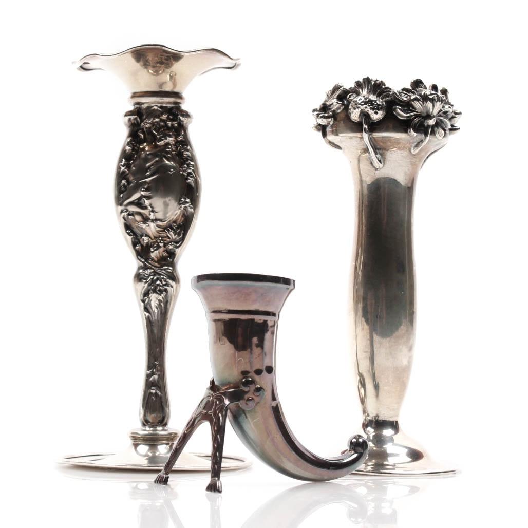 Sterling Silver Bud Vase Assortment