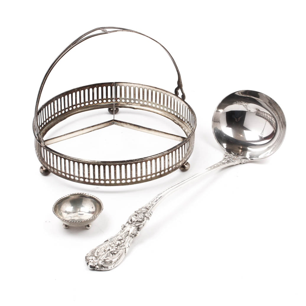 Sterling Silver Tableware Assortment
