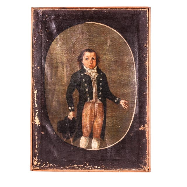 Early 19th Century Portrait of a Young English Dandy