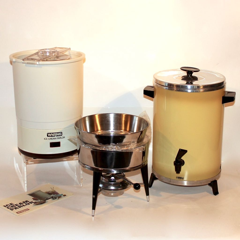 A Group of Specialty Kitchen Appliances