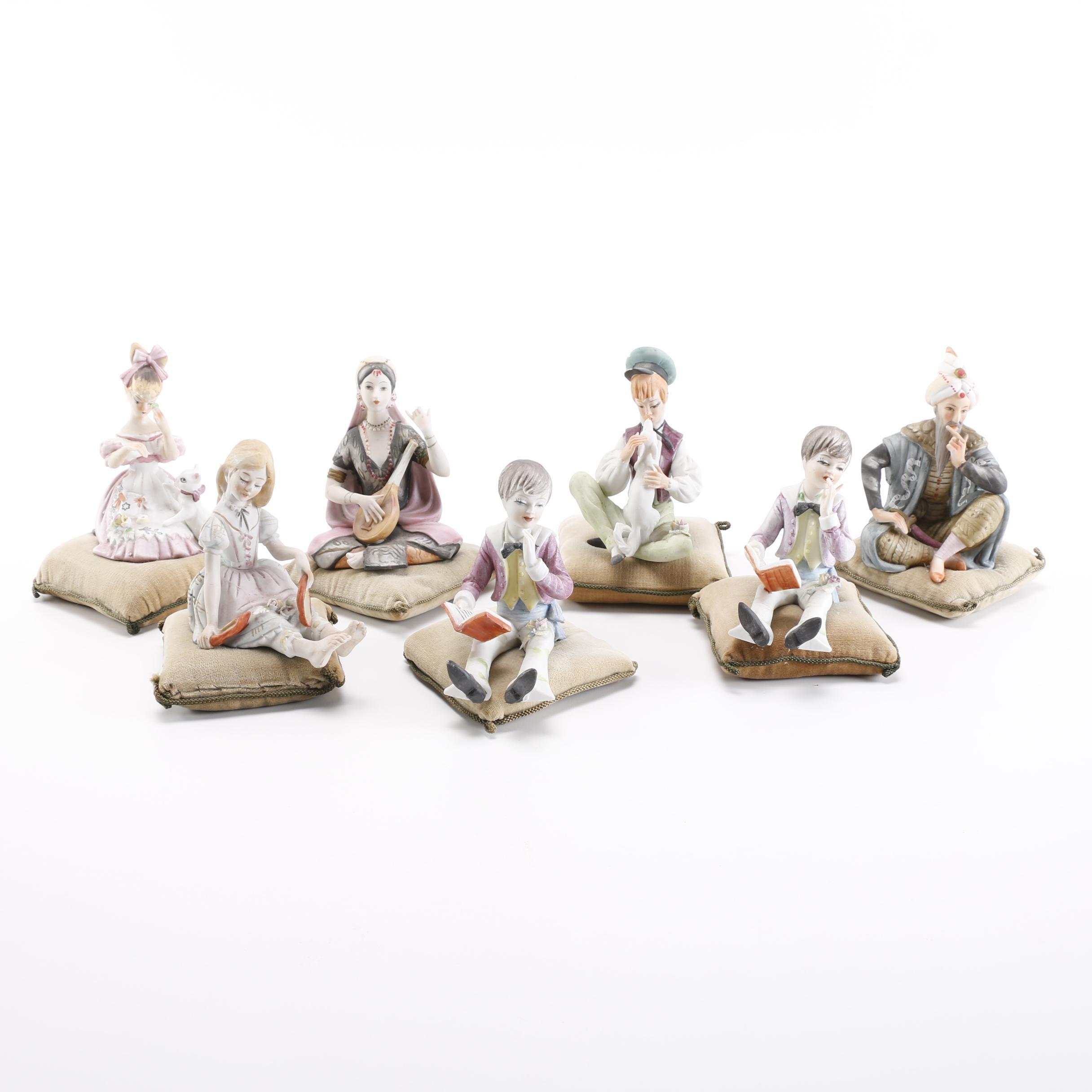 Hand-Painted Ardalt Figurines