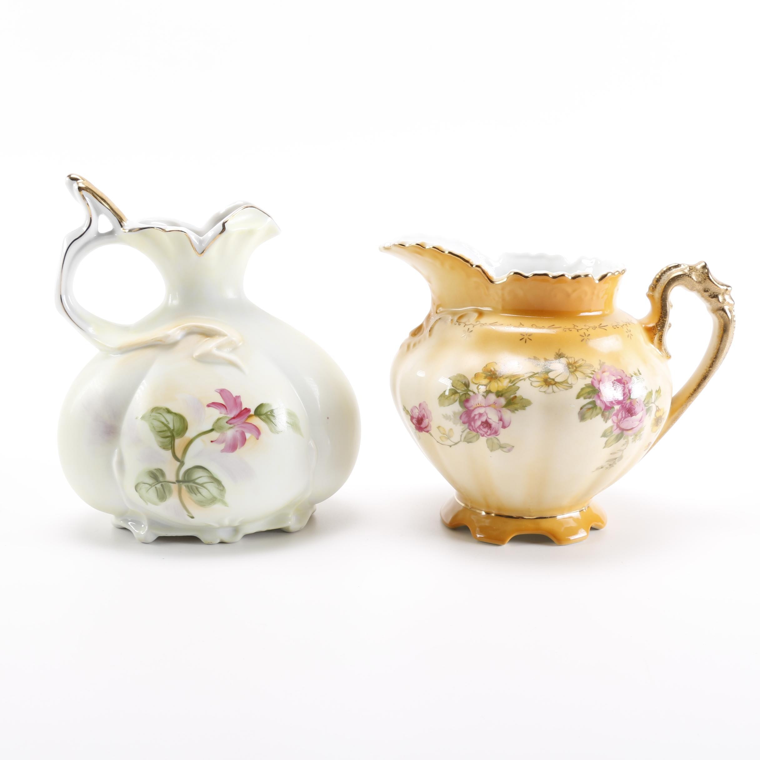 Reproduction Porcelain Pitchers