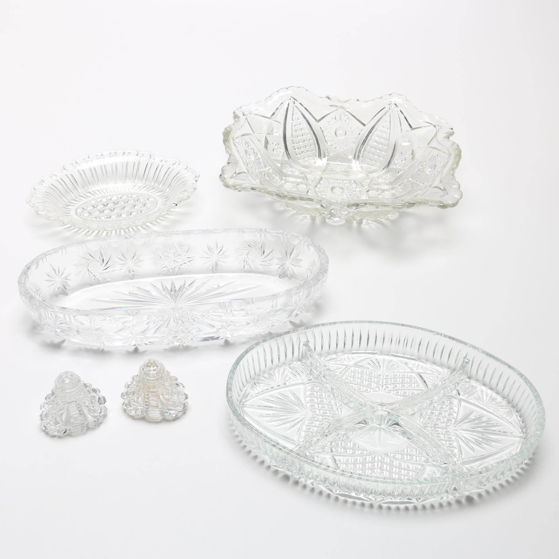Pressed Glass Tableware and Décor