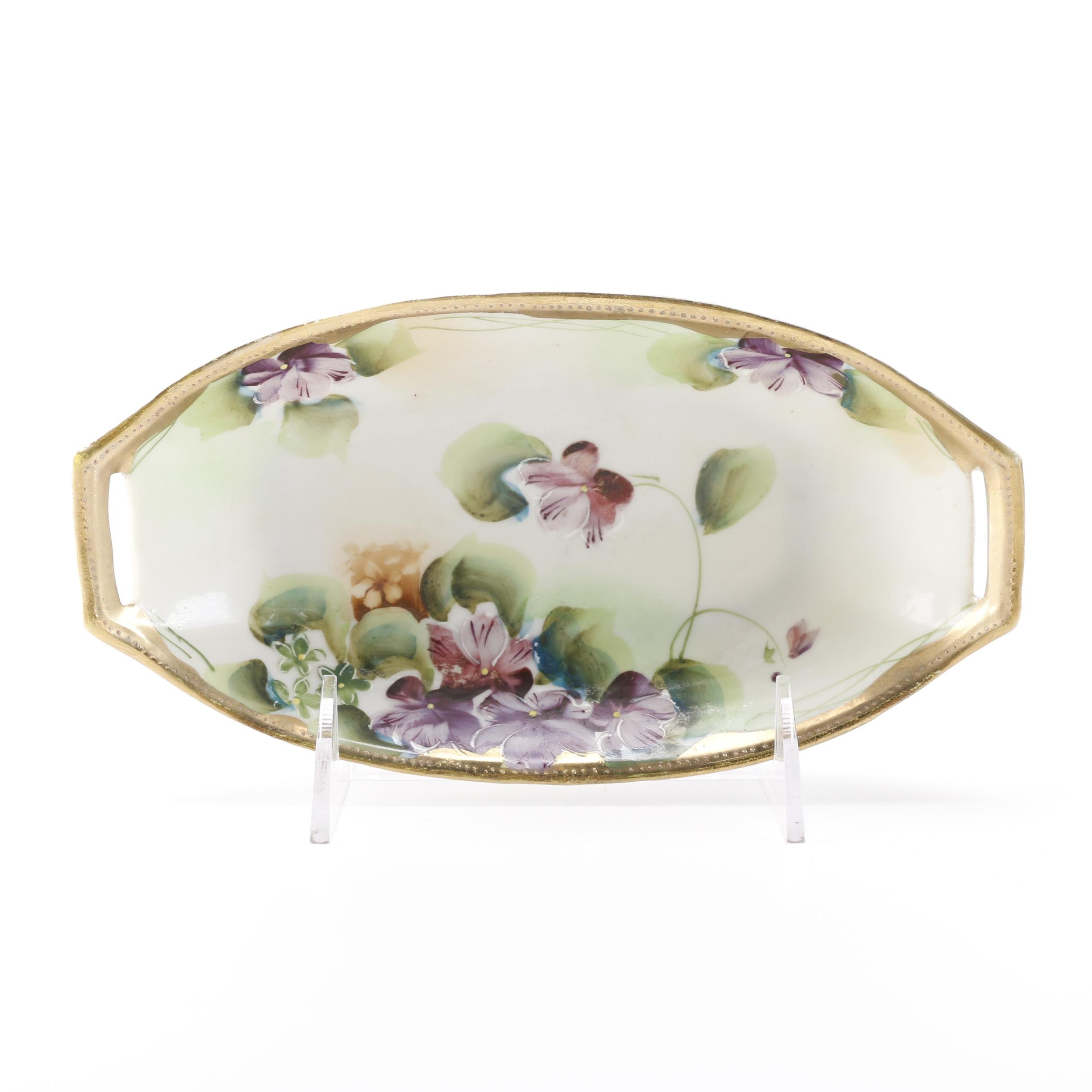 Nippon Hand-Painted China Serving Dish