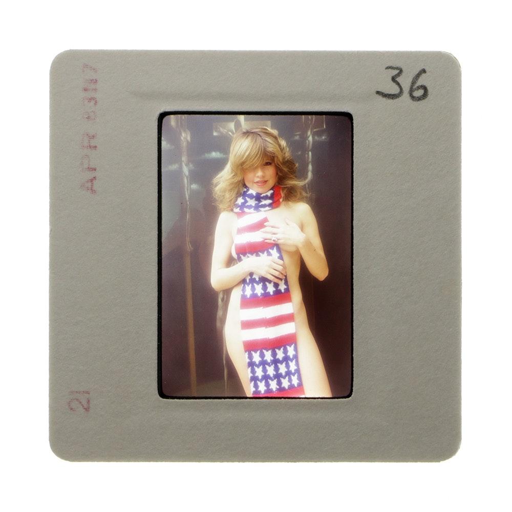 "Original ""Penthouse"" 35mm Slide of Pia Zadora by Bob Guccione"