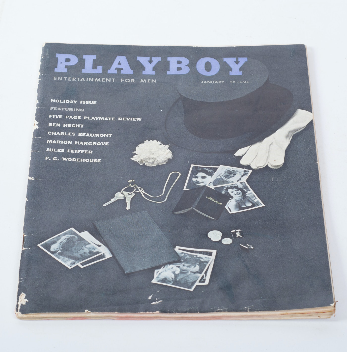Windsor Auto Sales >> Ten Vintage 1950's Playboy Magazines | EBTH