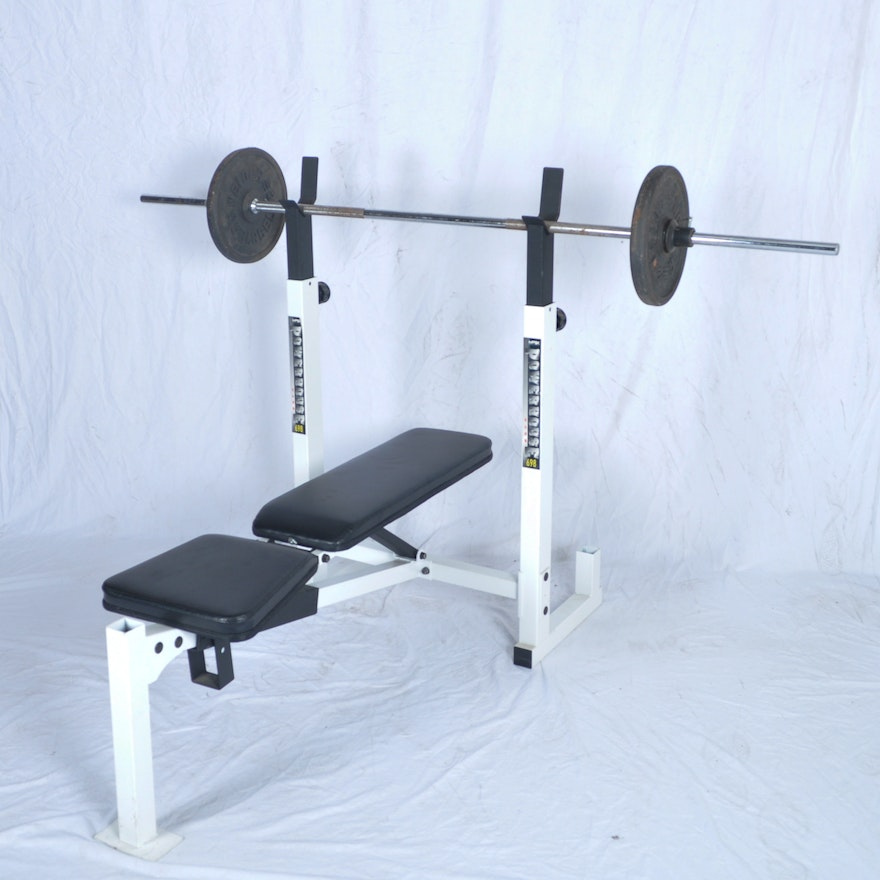 Impex Powerhouse 698 Workout Bench And Weight Lift Ebth