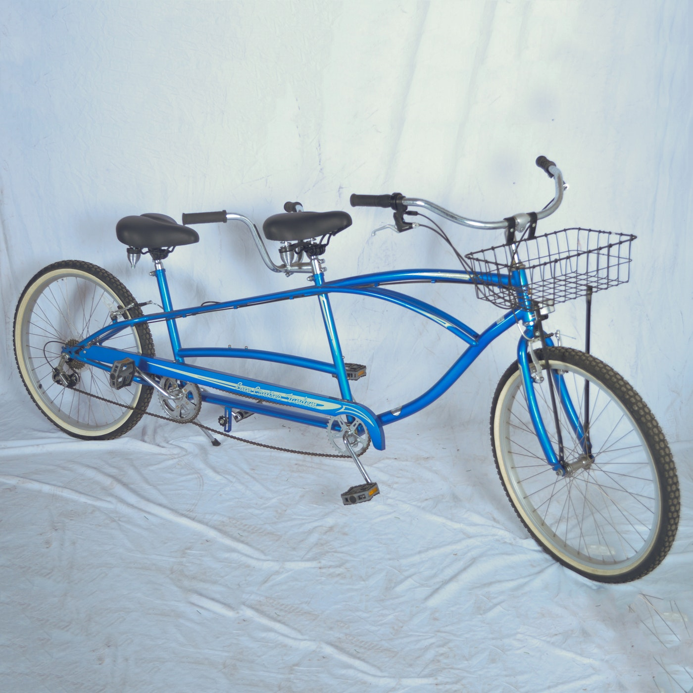 Sun cruiser tandem bicycle ebth for 4 box auto in tandem