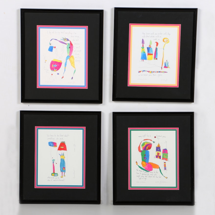 Giclee Prints After Brian Andreas Storypeople