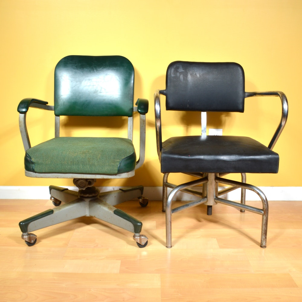 Mid 20th-Century Office Chairs