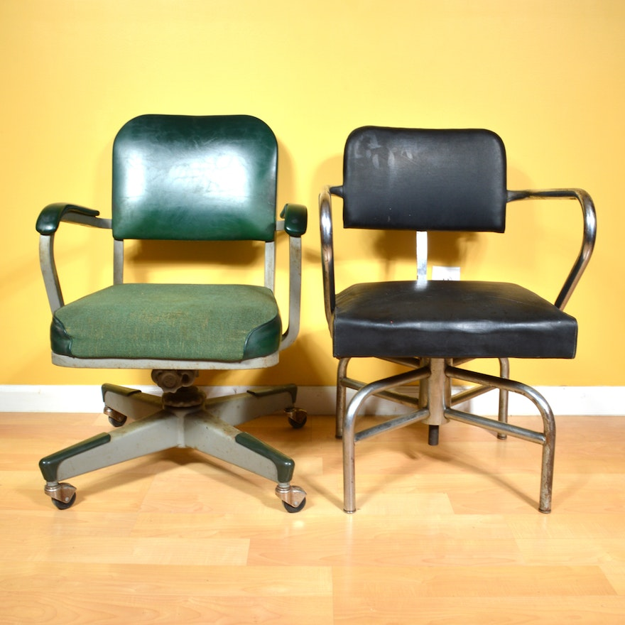 Mid 20th Century Office Chairs Ebth