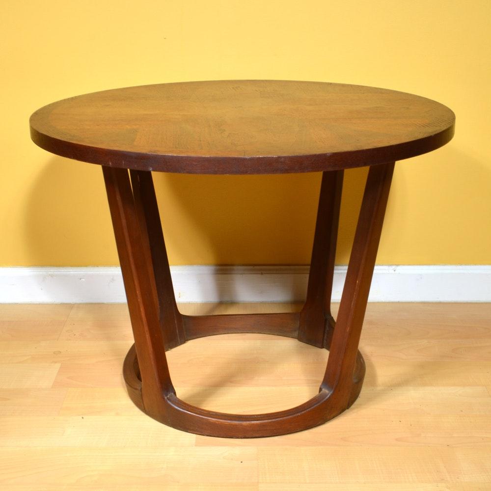 Elegant Vintage Walnut Accent Table By Lane ...