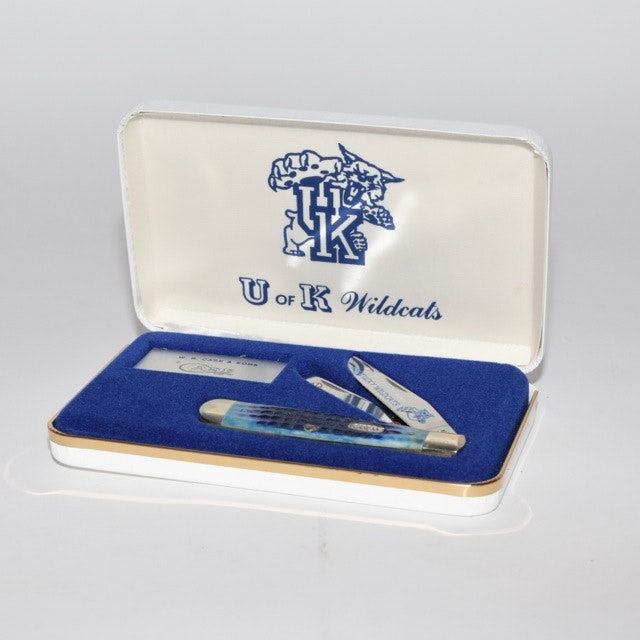 W.R. Case & Sons Collectible University of Kentucky Knife