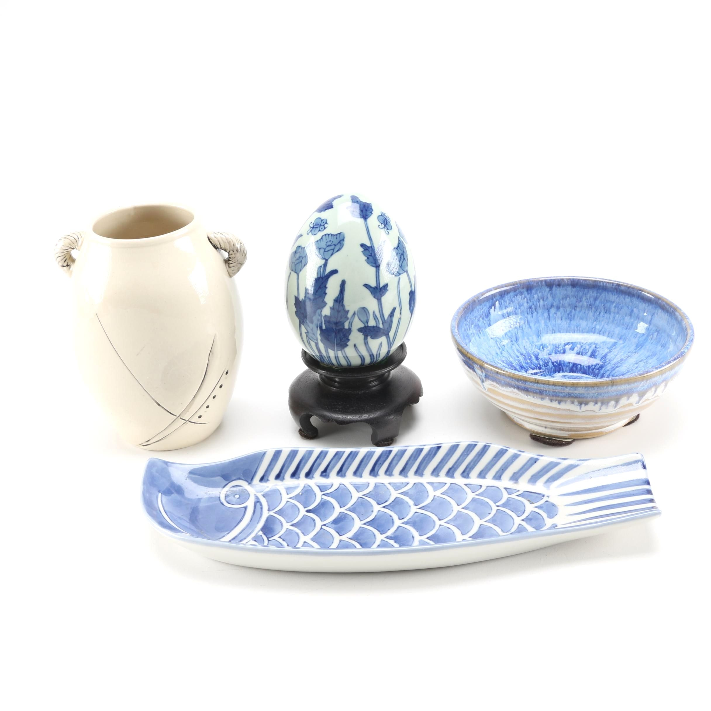 Assortment of Handmade Pottery