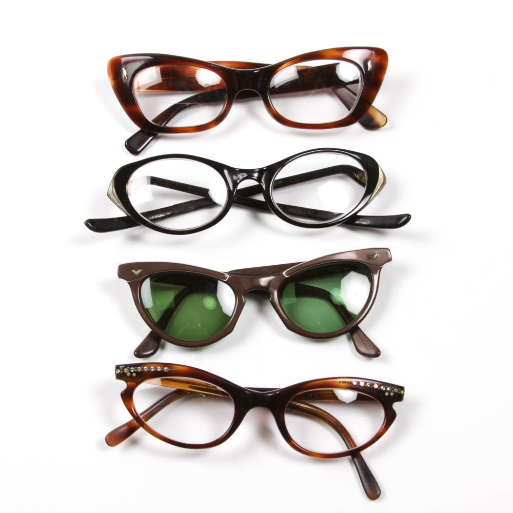 Collection of Vintage Glasses