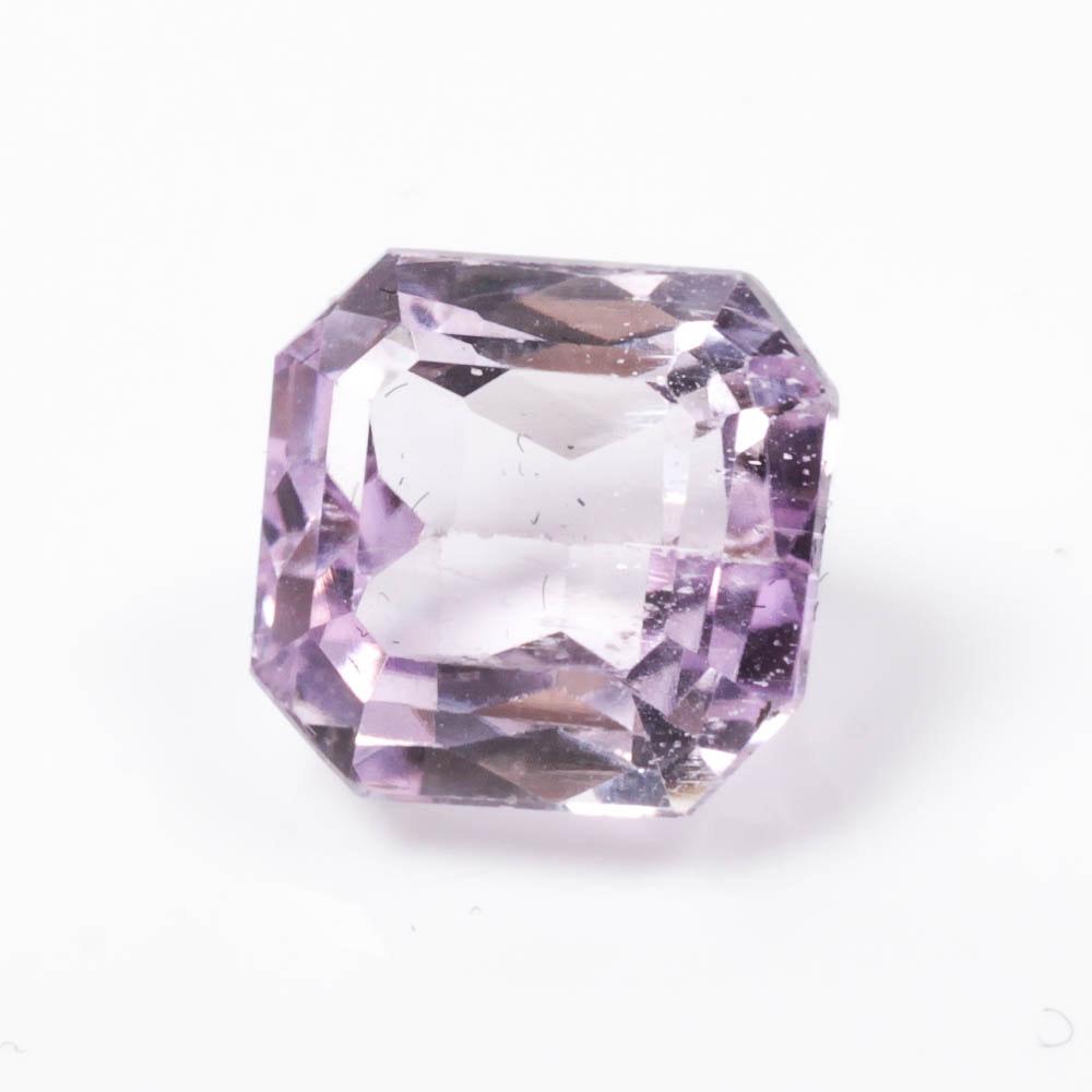Pink-Lavender Kunzite Gemstone