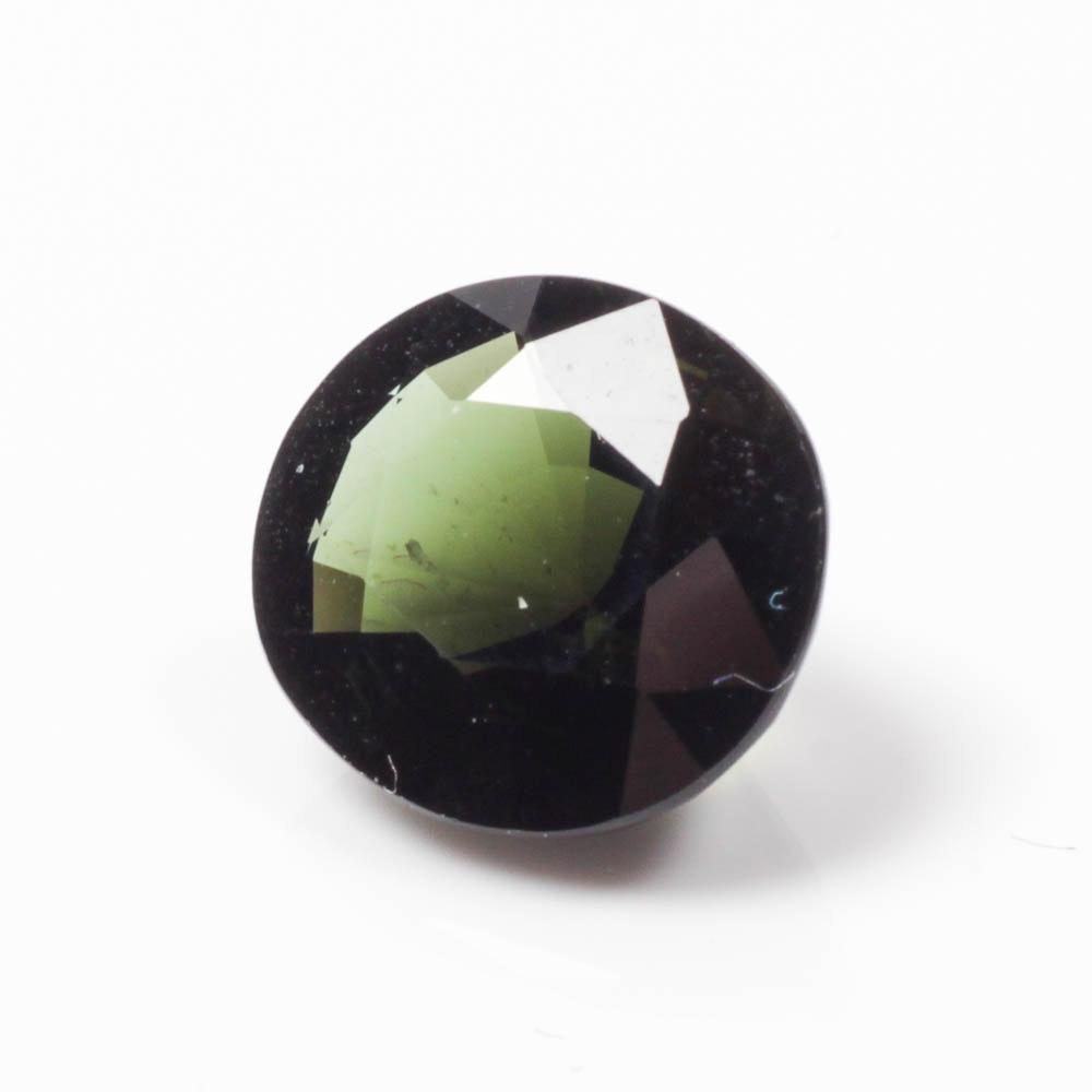 Dark Green Tourmaline Gemstone