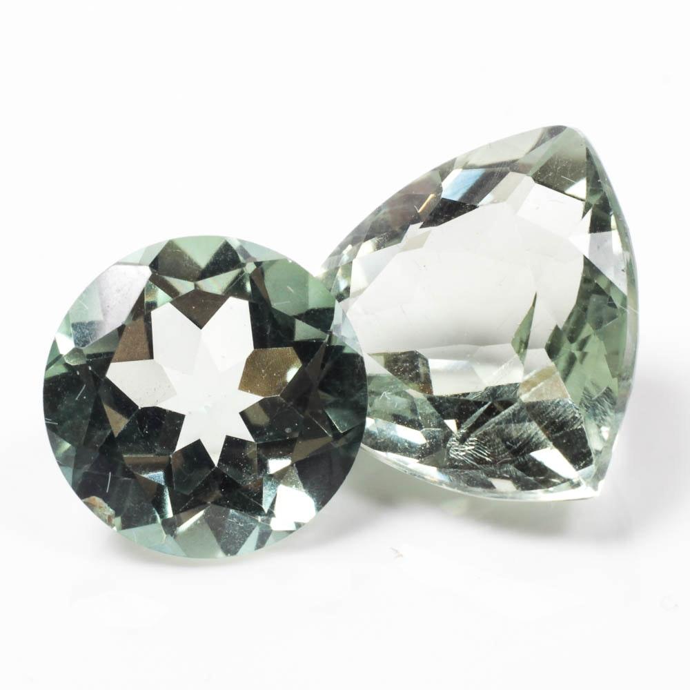 Light Blue-Green Gemstones