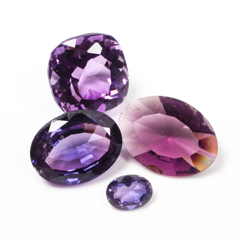 Pink and Lavender Gemstone Collection