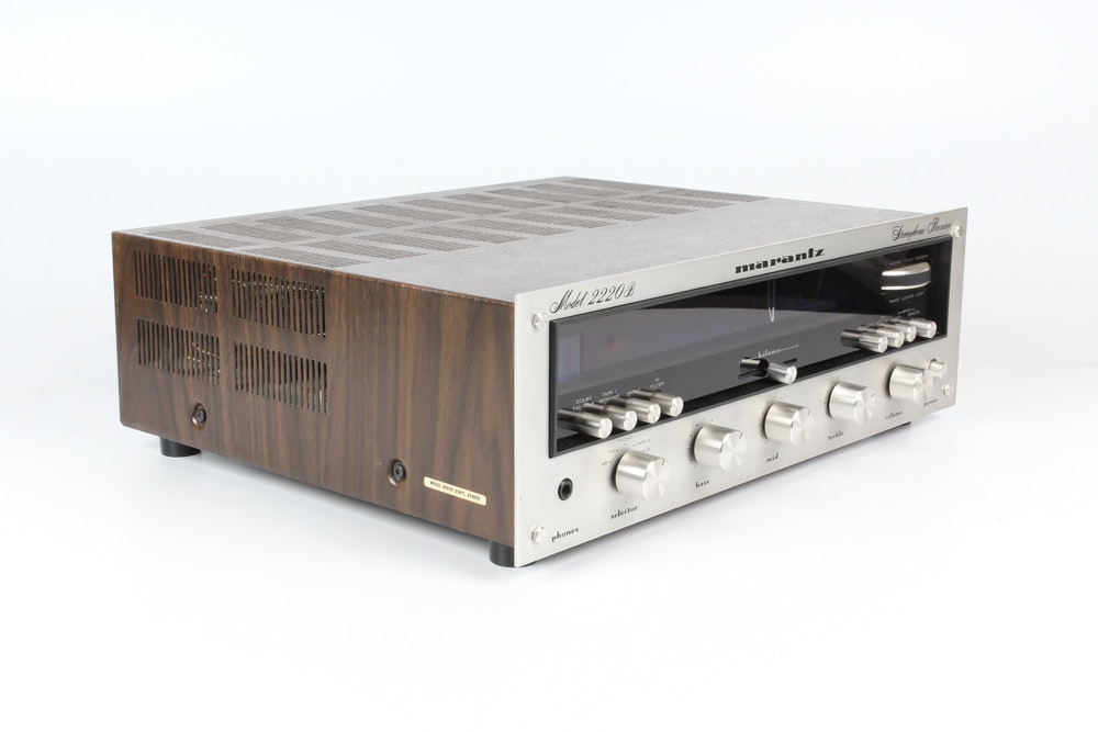 Vintage Marantz Stereophonic Receiver Ebth