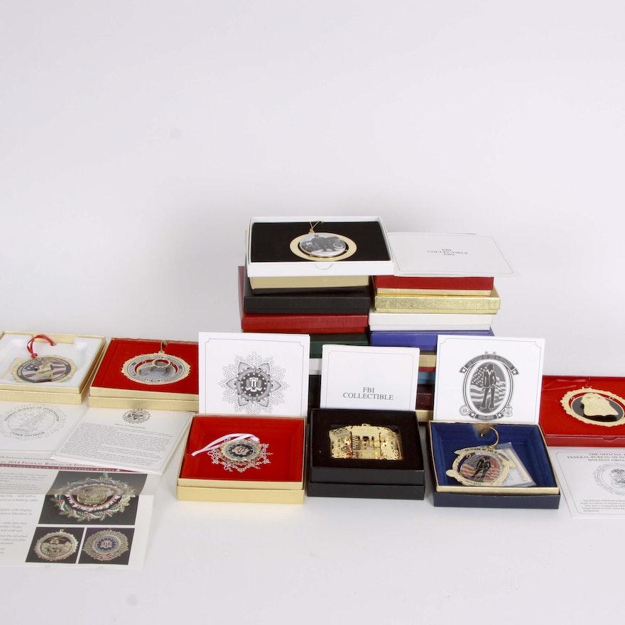 FBI Collectible Christmas Ornaments ... - FBI Collectible Christmas Ornaments : EBTH