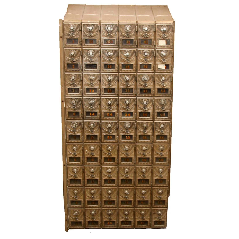 Vintage  Post Office Unit Box
