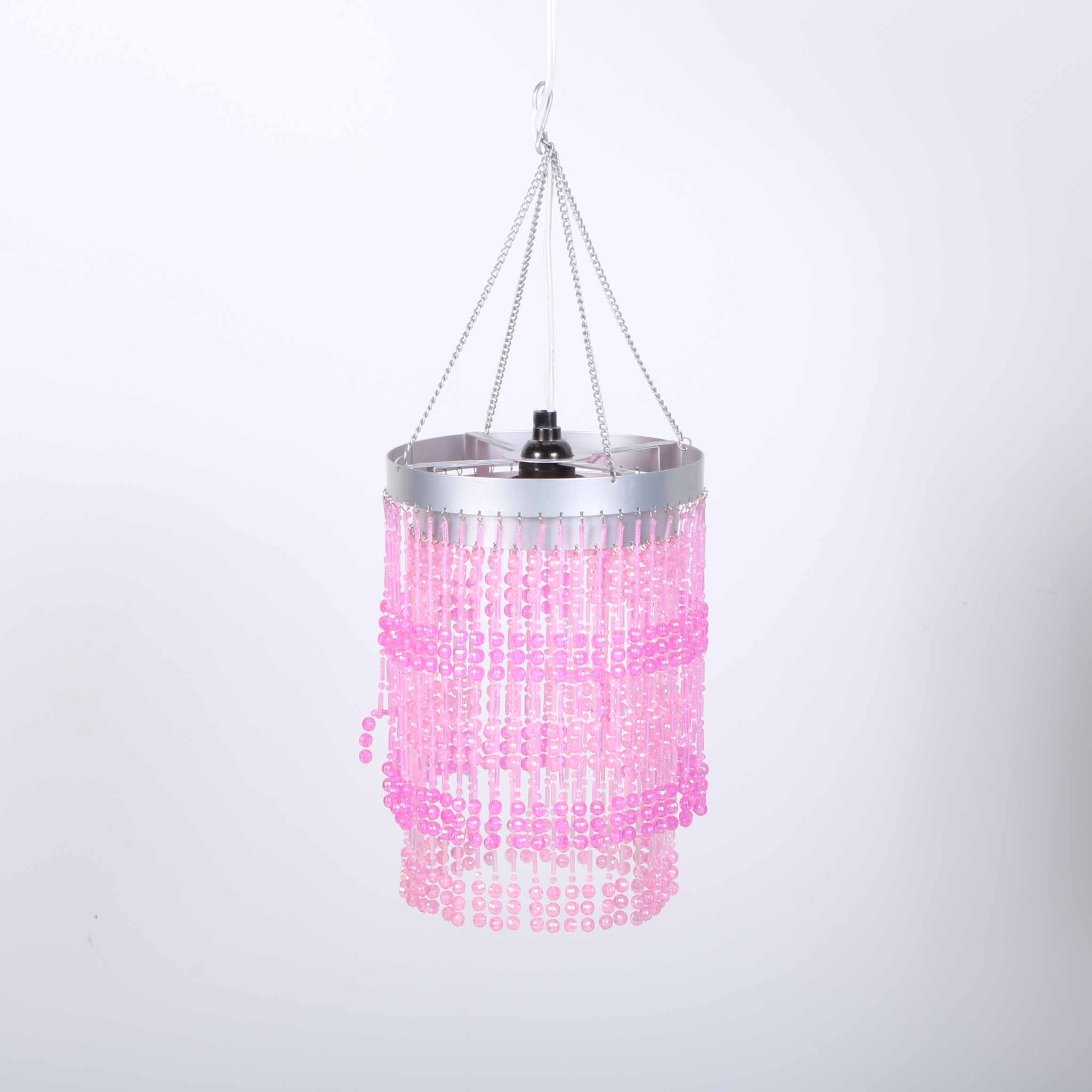 Pink Ceiling Mount Light Fixture
