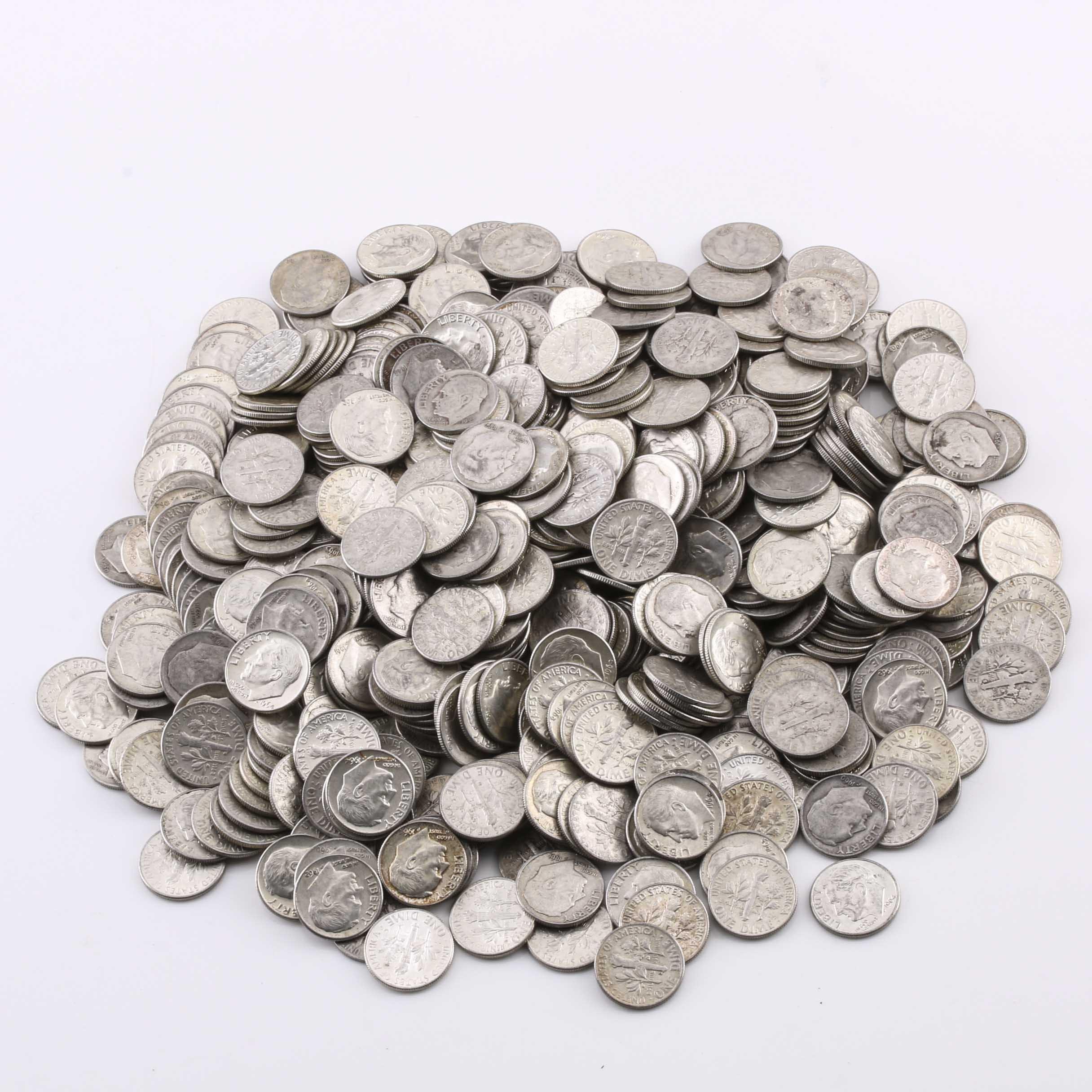565 Roosevelt Silver Dimes